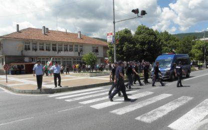 АПИ обезопасява Е-79 в Кресна заради протест