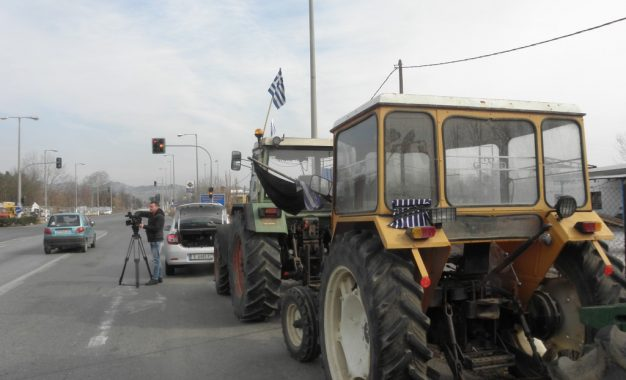 Гръцките фермери блокираха пътя при Промахон