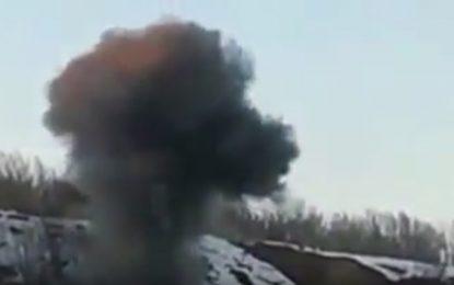 Военни отвориха пътя за Резово с взривове (видео)