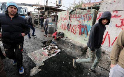 Атентат уби 32 души в Багдад в деня на визитата на Оланд
