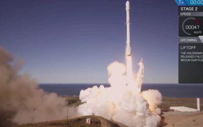 SpaceX този път изпрати ракета в космоса